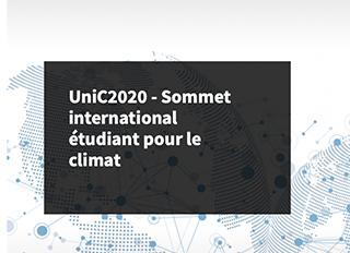 UniC2020 - Sommet international étudiant pour le climat