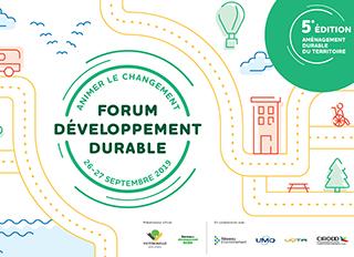 Animer le changement : Forum développement durable de Victoriaville