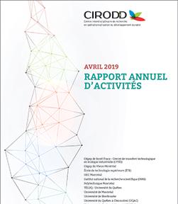2018-2019 - Rapport annuel d'activités