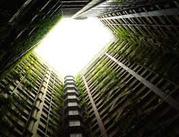 Intégration de modules de serres à des bâtiments existants