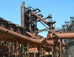 Mesure de la restauration de parcs à résidus miniers