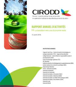 2015-2016 - Rapport annuel d'activités