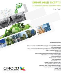 2016-2017 - Rapport annuel d'activités
