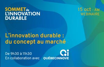 Sommet de l'ID | L'innovation durable : du concept au marché