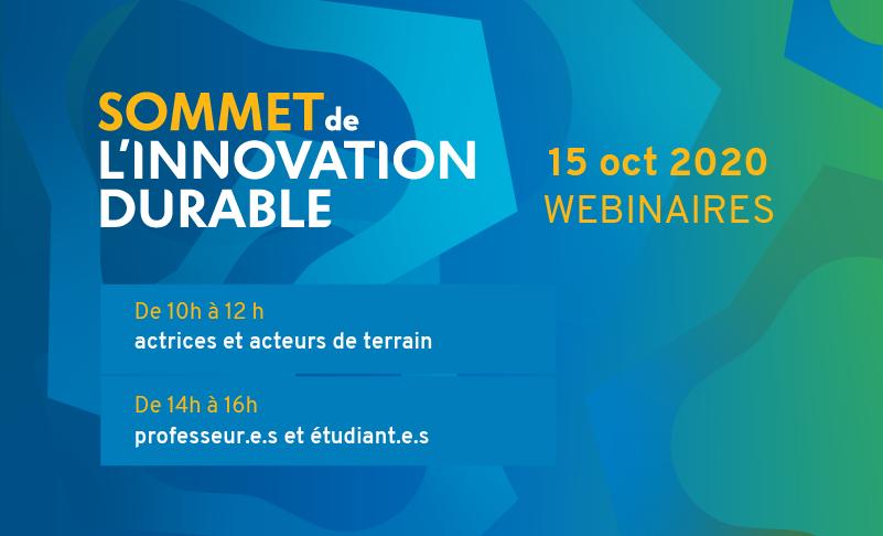 Sommet de l'innovation durable
