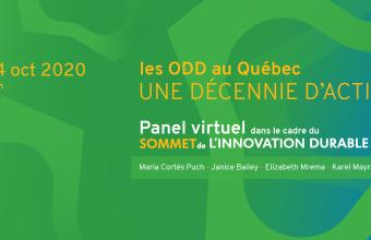 Les ODD au Québec: Accélérer une décennie d'action