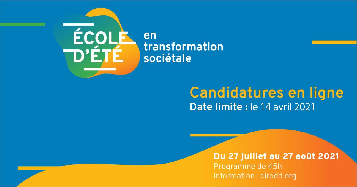 Joignez-vous aux futur.e.s. leaders municipaux en transformation sociétale !