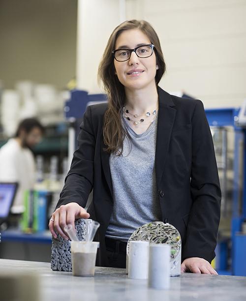 Chaire de recherche du Canada sur les matériaux de construction multifonctionnels durables